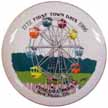 1986 First Town Days Plate
