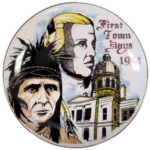 1994 First Town Days Souvenir Plate