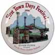1996 First Town Days Plate