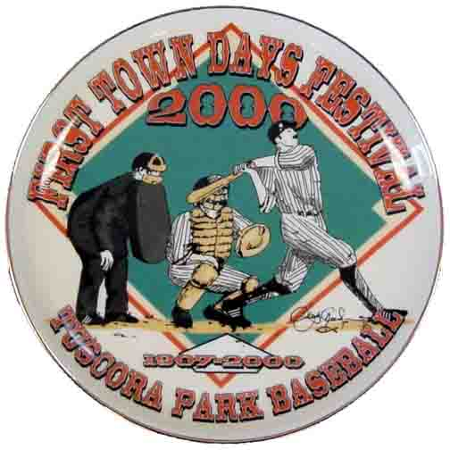 2000 First Town Days Souvenir Plate