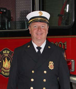 New Phila Fire Chief Jim Parrish